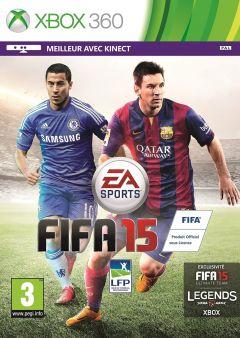 Jaquette de FIFA 15 Xbox 360