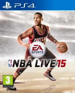 Jaquette de NBA Live 15 PS4