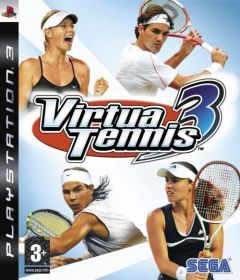 Jaquette de Virtua Tennis 3 PlayStation 3