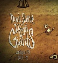 Jaquette de Don't Starve : Reign of Giants PS4