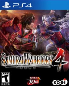 Jaquette de Samurai Warriors 4 PS4