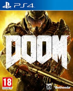 Jaquette de DOOM PS4
