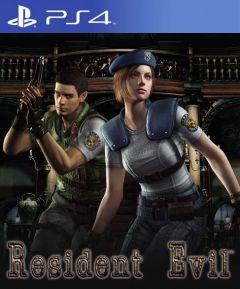 Jaquette de Resident Evil PS4