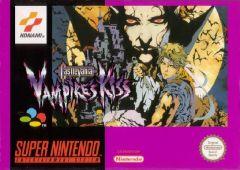 Jaquette de Castlevania : Vampire's Kiss Super NES