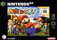 Jaquette de Mario Golf Nintendo 64