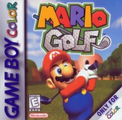 Jaquette de Mario Golf Game Boy