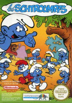 Jaquette de Les Schtroumpfs NES