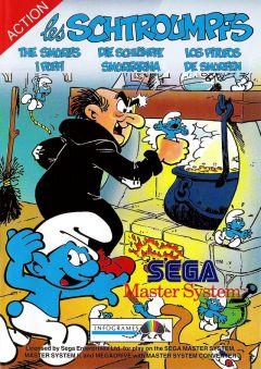 Jaquette de Les Schtroumpfs Master System