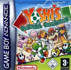 Jaquette de Yoshi's Universal Gravitation Game Boy Advance