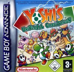 Jaquette de Yoshi's Universal Gravitation Game Boy Advance