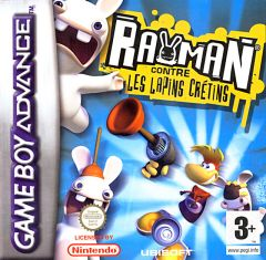 Jaquette de Rayman contre les Lapins Crétins Game Boy Advance