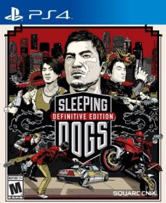 Jaquette de Sleeping Dogs : Definitive Edition PS4