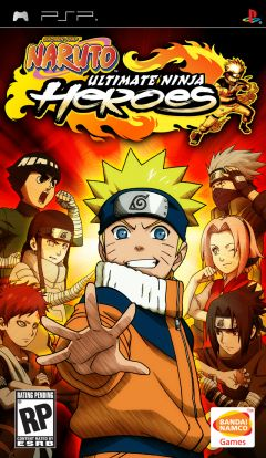 Jaquette de Naruto : Ultimate Ninja Heroes PSP