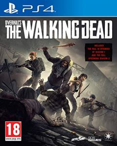 Jaquette de OVERKILL'S The Walking Dead PS4