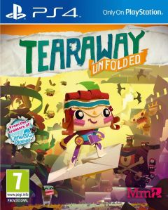 Jaquette de Tearaway Unfolded PS4