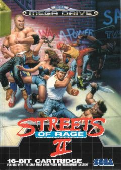 Jaquette de Streets of Rage II Megadrive