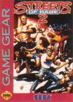 Jaquette de Streets of Rage II GameGear