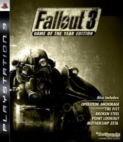 Jaquette de Fallout 3 : Game of the Year PlayStation 3