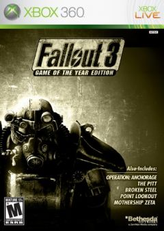 Jaquette de Fallout 3 : Game of the Year Xbox 360