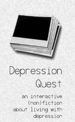 Jaquette de Depression Quest PC