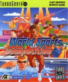 Jaquette de World Sports Competition PC Engine