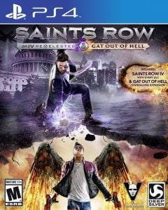Jaquette de Saints Row IV : Re-Elected & Gat Out of Hell PS4
