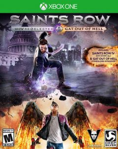 Jaquette de Saints Row IV : Re-Elected & Gat Out of Hell Xbox One