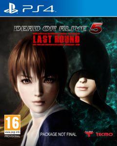 Jaquette de Dead or Alive 5 : Last Round PS4