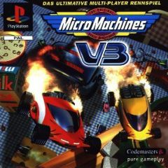 Jaquette de Micro Machines V3 PlayStation