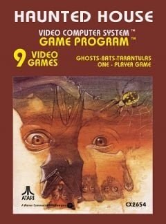 Jaquette de Haunted House Atari 2600