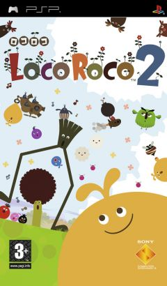 Jaquette de LocoRoco 2 PSP