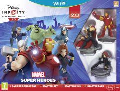Jaquette de Disney Infinity 2.0 : Marvel Super Heroes Wii U