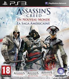 Jaquette de Assassin's Creed : Naissance d'un Nouveau Monde - La Saga Américaine PlayStation 3