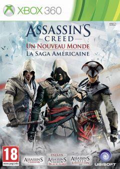 Jaquette de Assassin's Creed : Naissance d'un Nouveau Monde - La Saga Américaine Xbox 360