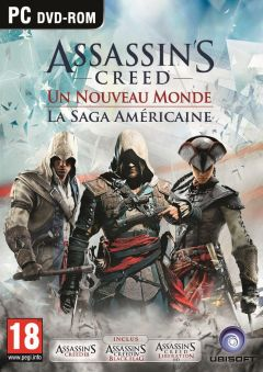 Jaquette de Assassin's Creed : Naissance d'un Nouveau Monde - La Saga Américaine PC