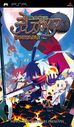 Jaquette de Disgaea : The Hour of Darkness PSP