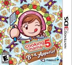 Jaquette de Cooking Mama 5 : Bon Appétit ! Nintendo 3DS