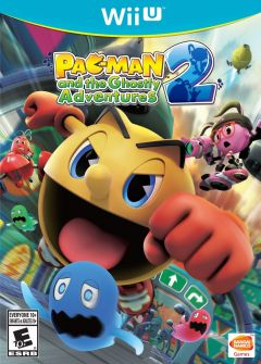 Jaquette de Pac-Man and the Ghostly Adventures 2 Wii U