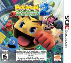 Jaquette de Pac-Man and the Ghostly Adventures 2 Nintendo 3DS