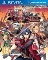 Jaquette de The Legend of Heroes : Trails of Cold Steel II PS Vita