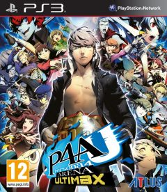 Jaquette de Persona 4 Arena Ultimax PlayStation 3