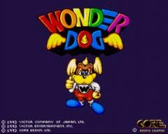 Jaquette de Wonder Dog Amiga