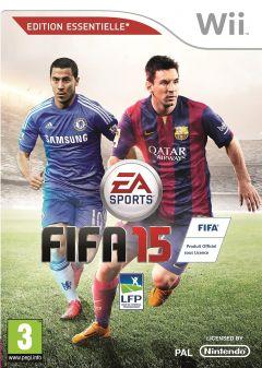 Jaquette de FIFA 15 Wii