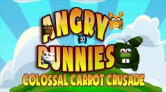 Jaquette de Angry Bunnies : Colossal Carrot Crusade Wii U