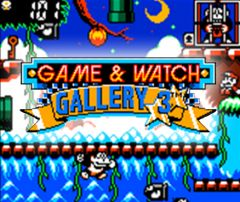 Jaquette de Game & Watch Gallery 3 Nintendo 3DS