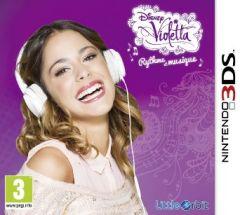 Jaquette de Disney Violetta : Rythme et Musique Nintendo 3DS