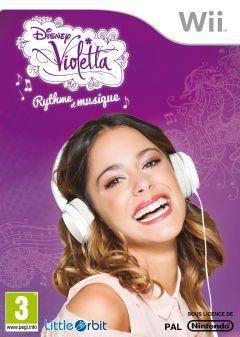 Jaquette de Disney Violetta : Rythme et Musique Wii