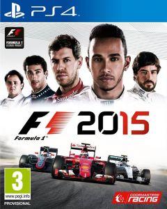 Jaquette de F1 2015 PS4