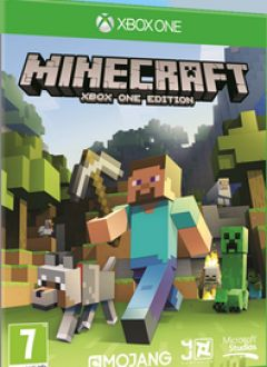 Jaquette de Minecraft : Xbox Edition Xbox One