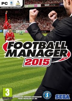 Jaquette de Football Manager 2015 PC